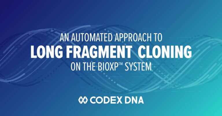Codex DNA Releases Long Gene Fragment Cloning on the BioXp™ System